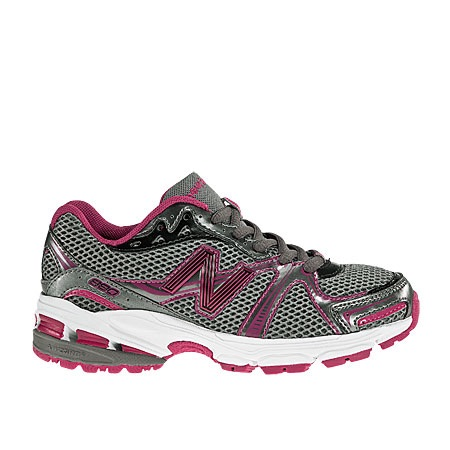 kid s new balance kj880bpy running shoes gray pink white